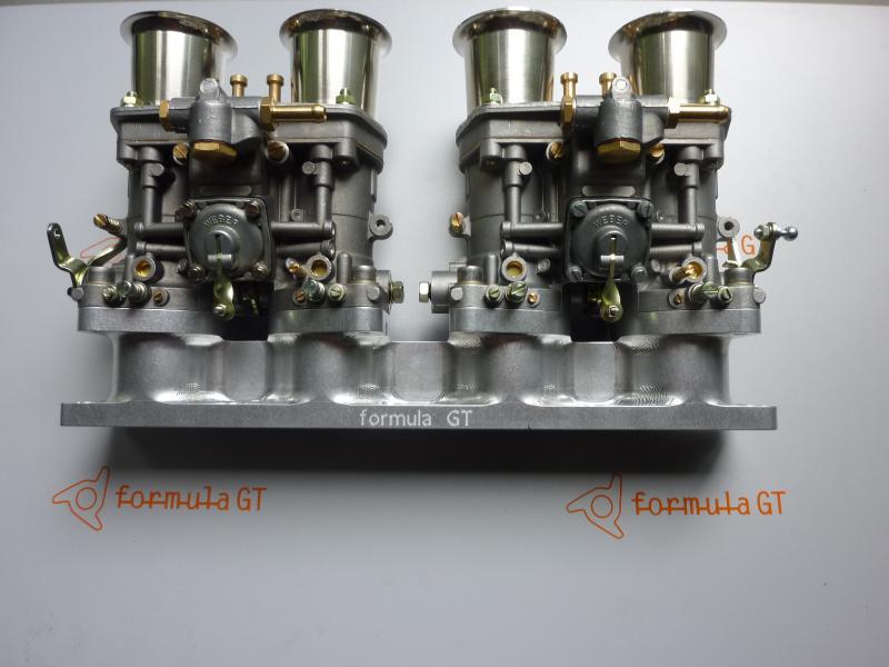 Ansaugbrücke Ferrari 308 4 V 328 Vergaser